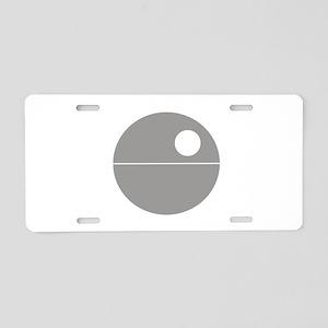 Todesstern hell Aluminum License Plate