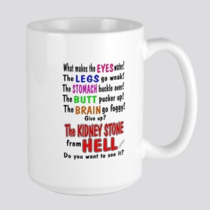 Kidney Stone from Hell Large Mug