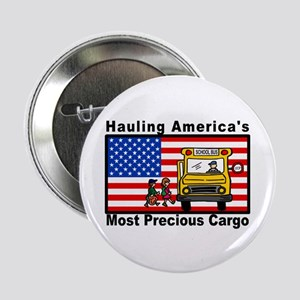 "School Bus Precious Cargo 2.25"" Button (10 pa"