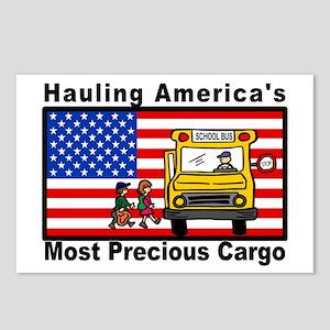 School Bus Precious Cargo Postcards (Package of 8)
