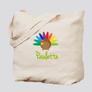 Paulette the Turkey Tote Bag