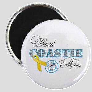 Proud Coastie Mom Magnet