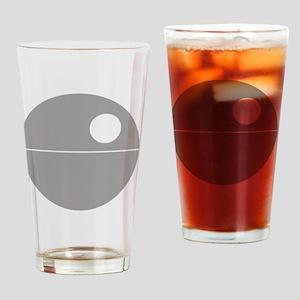 Todesstern hell Drinking Glass