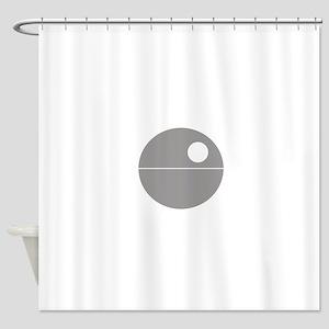 Todesstern Hell Shower Curtain