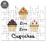 Live Love Cupcakes Puzzle