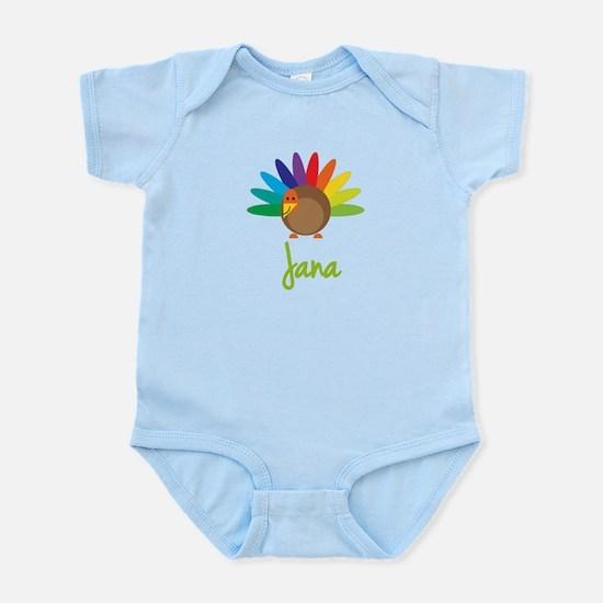 Jana the Turkey Infant Bodysuit