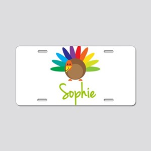 Sophie the Turkey Aluminum License Plate