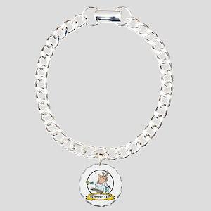 WORLDS GREATEST CAFETERIA LADY Charm Bracelet, One