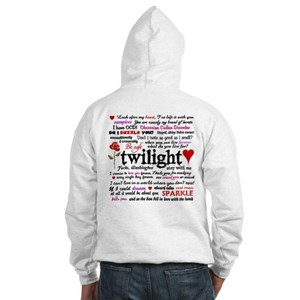 Twilight Quotes Hooded Sweatshirt