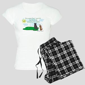 black lab Women's Light Pajamas