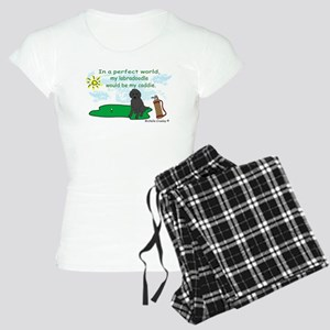 labradoodle Women's Light Pajamas