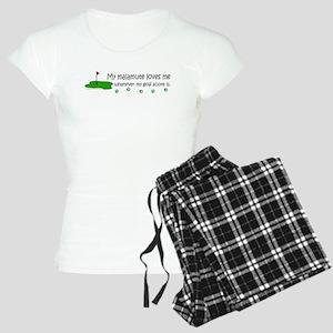 alaskan malamute Women's Light Pajamas