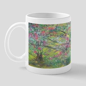 Dark Beautiful Floral Coffee Mug