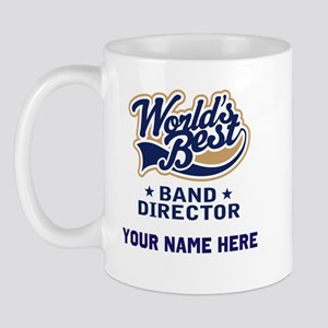 Personalized Band Director Mug