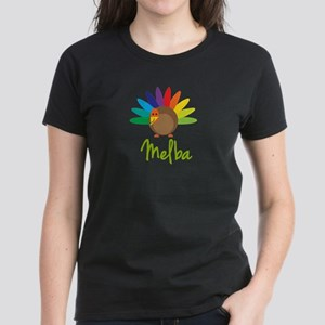Melba the Turkey Women's Dark T-Shirt