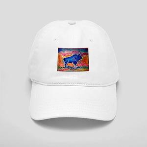 Buffalo,southwest art, Cap