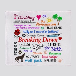 Breaking Dawn 11-18 Throw Blanket