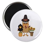 Thanksgiving Friends Magnet