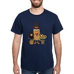 Thanksgiving Friends Dark T-Shirt