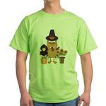 Thanksgiving Friends Green T-Shirt