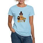 Thanksgiving Friends Women's Light T-Shirt