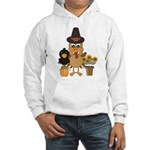 Thanksgiving Friends Hooded Sweatshirt