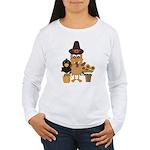 Thanksgiving Friends Women's Long Sleeve T-Shirt