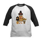 Thanksgiving Friends Kids Baseball Jersey