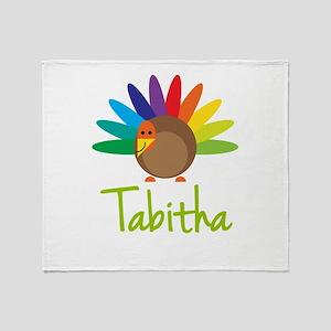 Tabitha the Turkey Throw Blanket