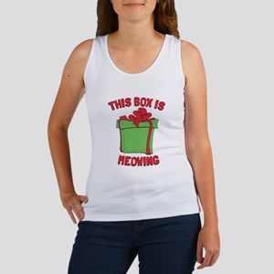 This Box is Meowing Women's Tank Top