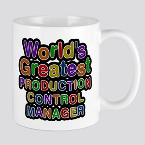 Worlds Greatest PRODUCTION CONTROL MANAGER Mugs