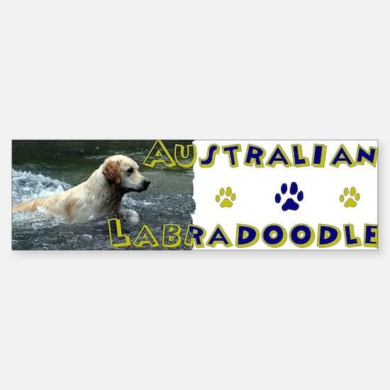 AUSTRALIAN LABRADOODLE Sticker (Bumper)