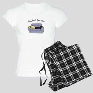 lab gifts - yellow/black Women's Light Pajamas