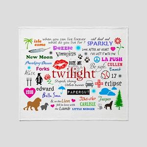 Twilight Memories Throw Blanket