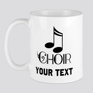 Personalized Choir Musical Mug
