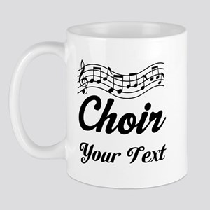 Custom Choir Musical Mug