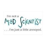 Mad Scientist 38.5 x 24.5 Wall Peel