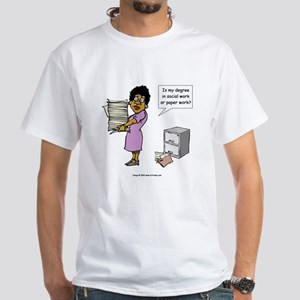My Degree (Design 3) White T-Shirt