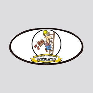 WORLDS GREATEST BRICKLAYER Patches
