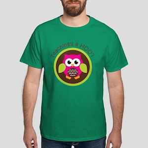 Teaching's a Hoot Dark T-Shirt