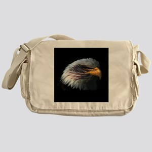 American Flag Eagle Messenger Bag