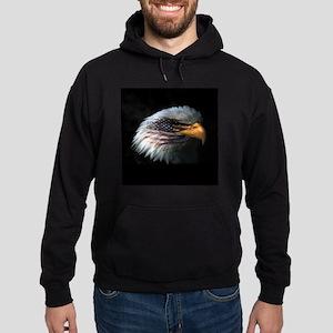 American Flag Eagle Hoodie (dark)