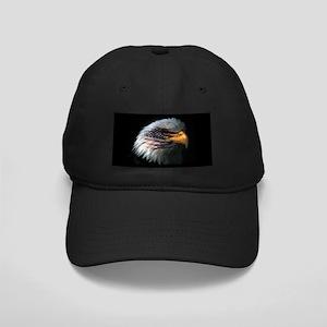 8faa9e83484 Hats. American Flag Eagle Black Cap