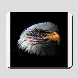 American Flag Eagle Mousepad