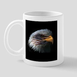 American Flag Eagle Mug
