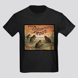 Vintage Frogs Kids Dark T-Shirt