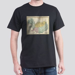Vintage Map of Iceland (1761) T-Shirt