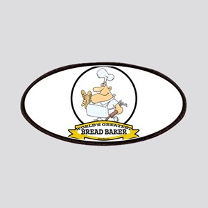 WORLDS GREATEST BREAD BAKER MAN Patches