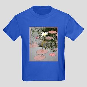 Waterlily, photo, art, Kids Dark T-Shirt