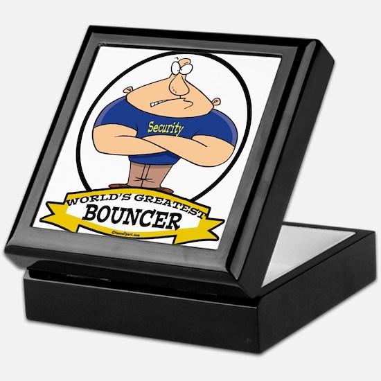 WORLDS GREATEST BOUNCER Keepsake Box